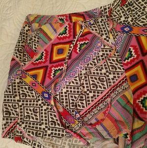 Super Cute Colorful Patchwork Pajama Shorts